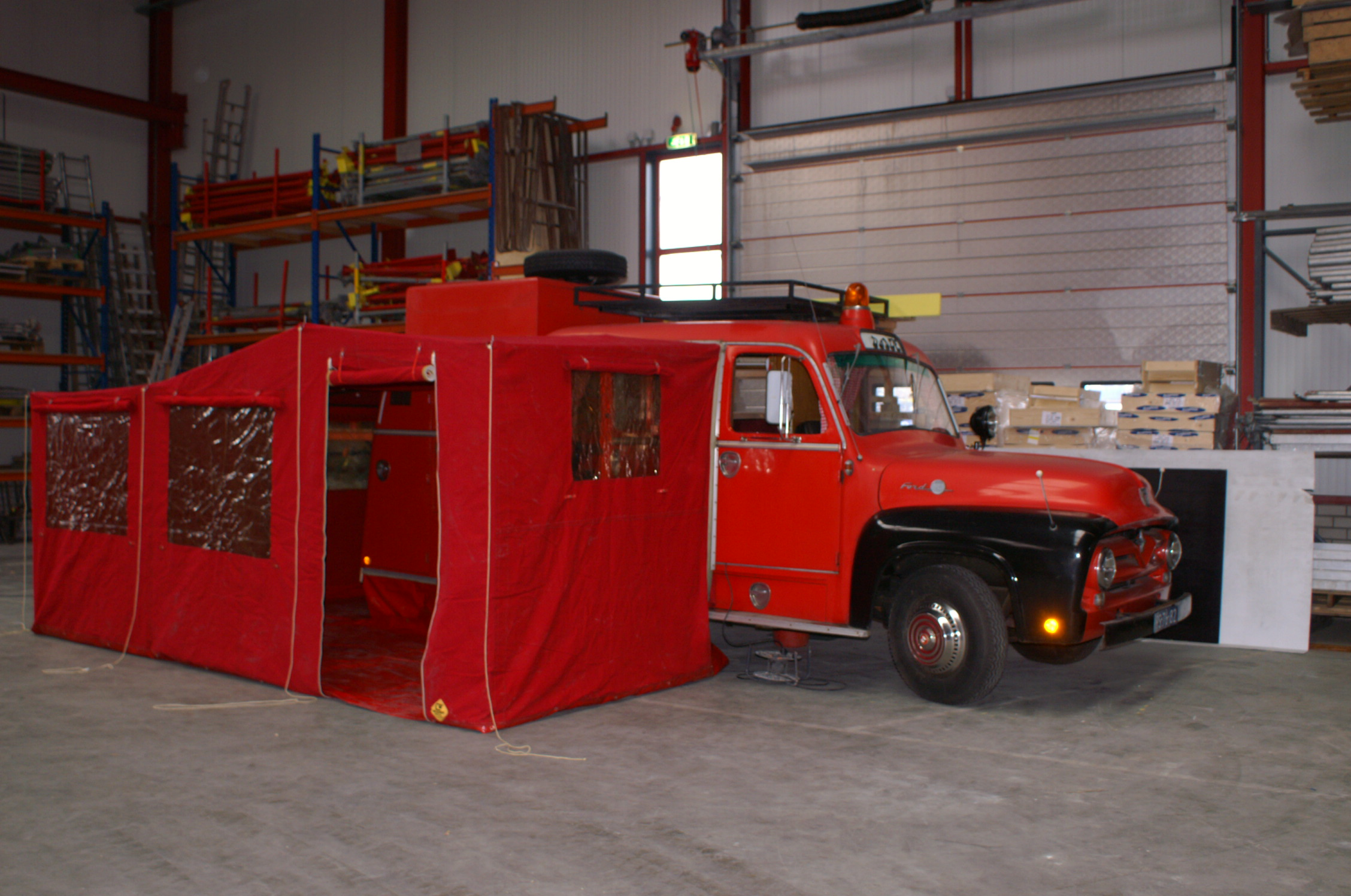 Classic Camper Reviews Vw Commer Ford Etc 1955 F350 Truck Fire Crew Bus